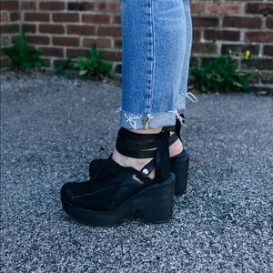 Black Free People clog
